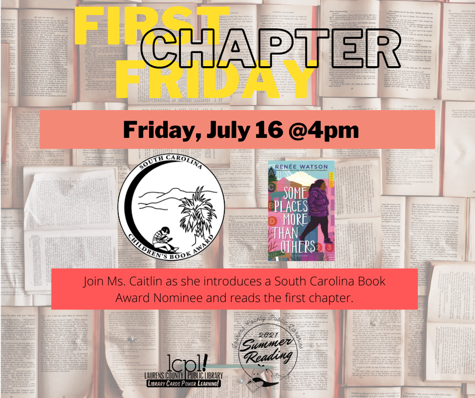 First Chapter Friday: Some Places More Than Others