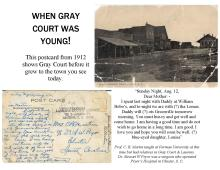 When Gray Court was Young